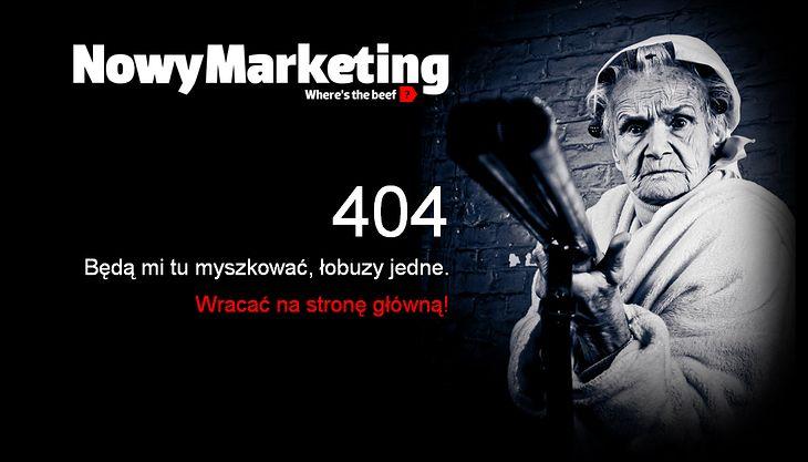 kolejny dobry sposób na zachęcenie użytkowika, aby nie porzucał strony gdy wyświetli mu się błąd 404