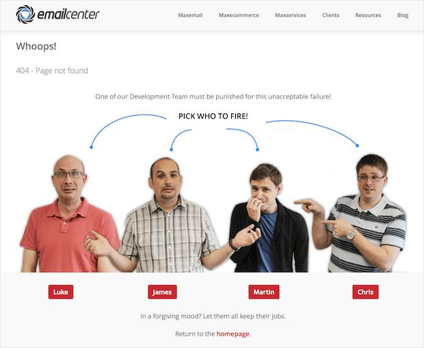 dobry sposób na błąd 404